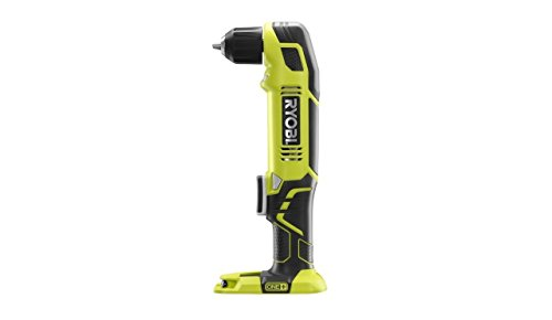 Ryobi P241 One+ 18 Volt Lithium Ion 130 Inch Pounds 1,100 RPM 3/8 Inch Right Angle Drill (Battery Not Included, Power Tool Only)