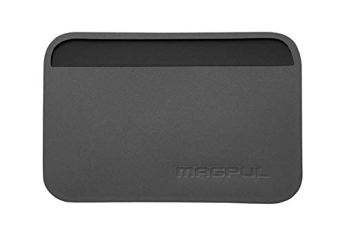 Magpul DAKA Essential Tactical Slim Minimalist Credit Card Holder Travel Wallet EDC Gear, Stealth Gray