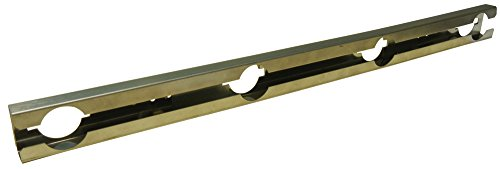 Music City Metals 08032 Stainless Steel Burner Replacement for Select Broil King and Huntington Gas Grill Models