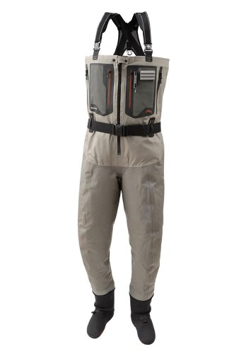 Simms G4Z Stockingfoots Wader - Men's Greystone, LK
