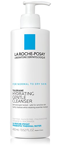 La Roche-Posay Toleriane Face Wash Cleanser, 13.52 Fl. Oz. (Best Moisturizing Face Wash For Dry Skin)