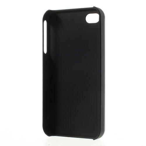 Apple iPhone 4 4S Motomo Metall Hard Case Aluminium Cover Shell Brushed Silber