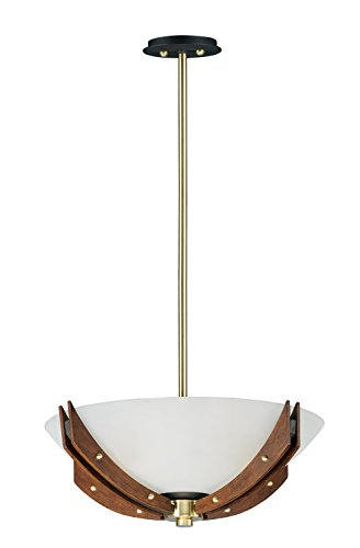 Maxim Lighting 783209201927 Merge Pendant Light, Bronze/Antique Pecan