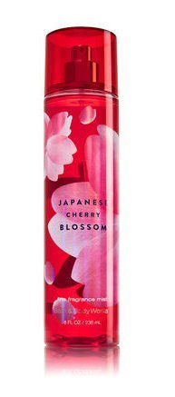 Bath & Body Works Signature Collection Fragrance Mist 8 Fl Oz (Japanese Cherry Blossom)