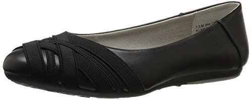 Aerosoles Shoes Ladies (Aerosoles Women's Spin Cycle Ballet Flat, Black, 9 M US)