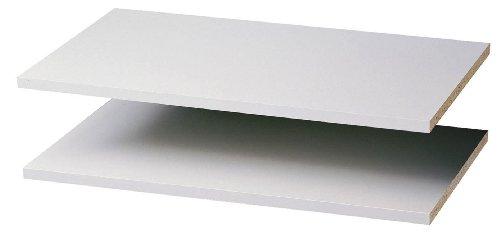 Shelves Adjustable Closet - Easy Track 2 Count Closet Shelves, 24