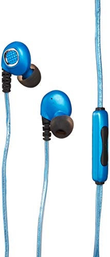 Pilot EL-1320B Light Pulse Sports Active Earbuds with 3 Ft. Cable - Blue