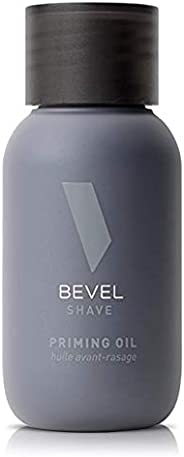 Pre Shave Oil for Men's Beard Care by Bevel, Shaving Cream Alternative with Castor Oil and Olive Oil, Help