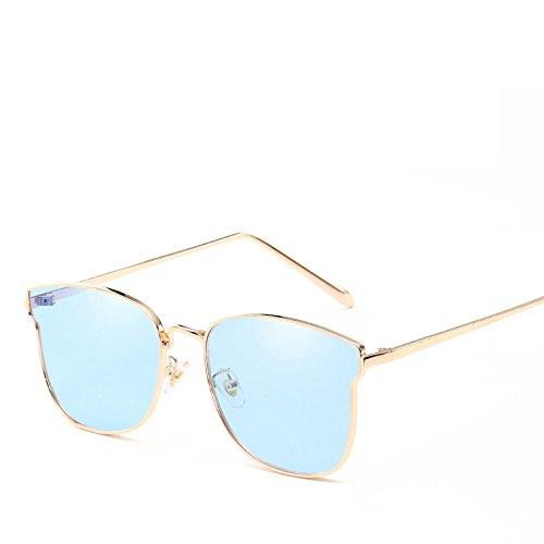 Sol Visor Protección Moda Conducción No3 Box Gafas Metal Señora De NO5 Gafas De Solar Street Playa Sol Viajes Shoot Big Trend RinV De Personalidad RTgYA1qW