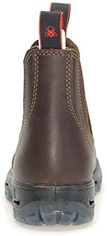 Redback Boots Jarrah Brown UBJK Bateau en cuir Chelsea