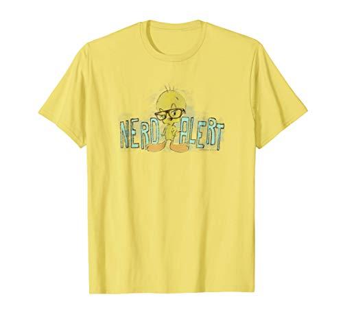 Looney Tunes Tweety Nerd Alert T Shirt