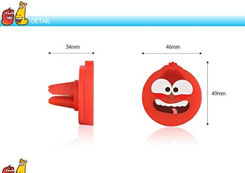 Larva Character Car Magnet Magnetic Air Vent mount Holder for Mobile Cell Phone Red Color
