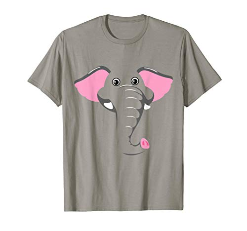 Easy Halloween Costumes For College Kids (Elephant Face Costume Cute Easy Animal Halloween Gift)