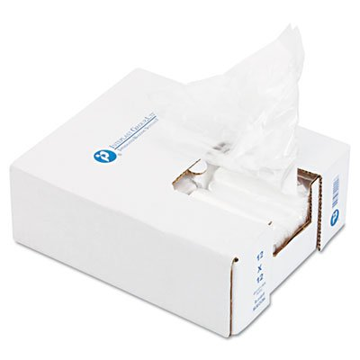 Ice Bucket Liner, 6 x 6 x 12, 3qt, .5mil, Clear, 1000/Carton, Sold as 1 Carton