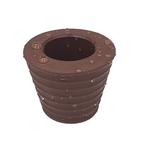 HTTH Patio Umbrella Cone Table Hole Ring Plug (Brown) (B-1 Pcs)