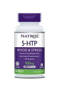 5-Htp 100Mg Time Release By Natrol - 45 Tab, 2 Pack by Natrol