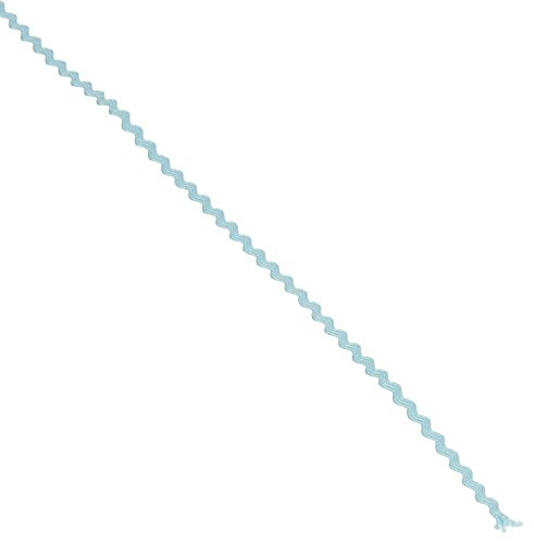 Wrights 117-400-052 Polyester Baby Rick Rack Utility Trim, Light Blue, 4-Yard (Rick Light Rack)