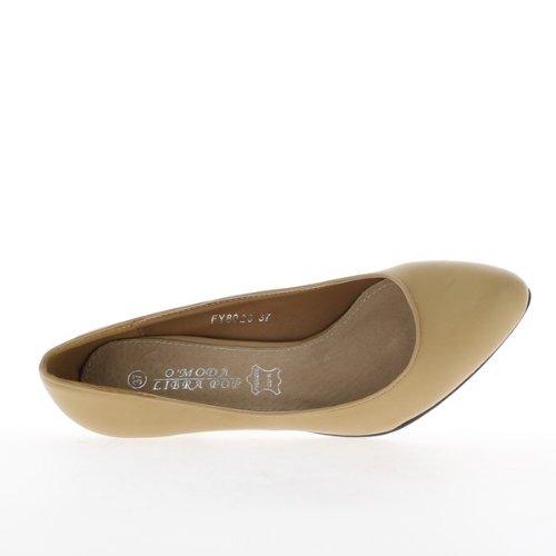 para ChaussMoi vestir Zapatos de mujer sintético de w77TOfq