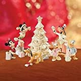 Lenox Mickey & Friends Christmas Celebration Sculpture