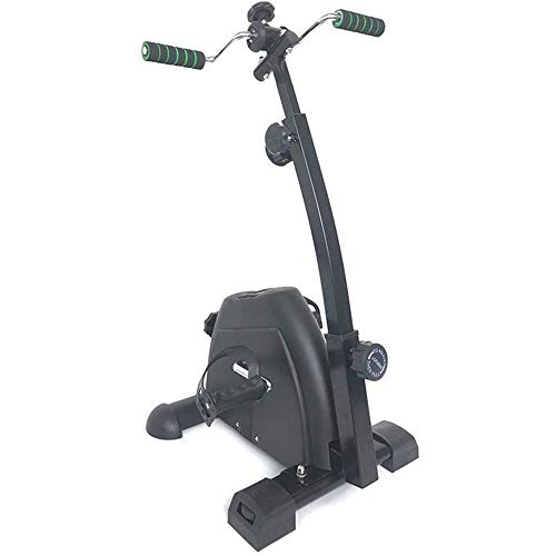 XHLLX Portable Pedal Exerciser – Hand, Arm & Leg Exercise Peddling Machine with LCD Monitor – Adjustable Fitness Rehab…