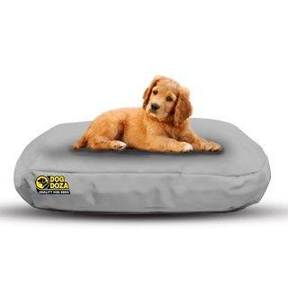 Camas ovaladas Impermeables para Perro Doza, Color Gris, 90 cm x 60 cm: Amazon.es: Productos para mascotas