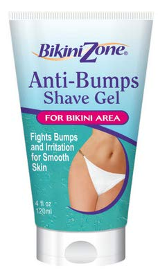 Bikini Zone Shave Gel Anti-Bumps, 4 Ounce (3 Pack)