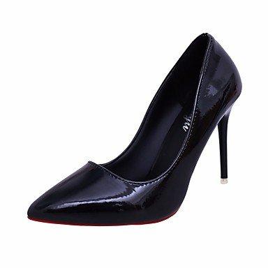 LvYuan Mujer Sandalias Confort PU Primavera Casual Confort Negro Morado Rojo 5 - 7 cms Purple