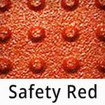 Truncated Domes - 2' x 3' - Flexible Urethane ADA Truncated Domes Pads - Safety Red