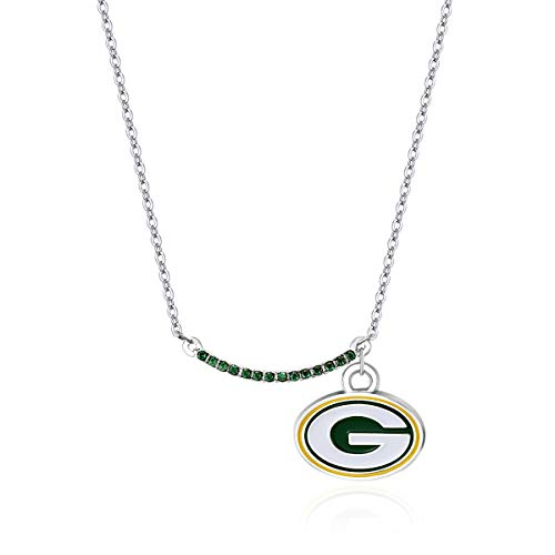 Pro Specialties Group NFL Green Bay Packers Infinity Necklace