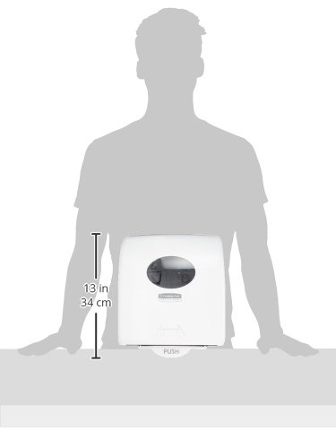 Aquarius 7955 Slimroll Rolled Hand Towel Dispenser 1 x 1 Dispenser White