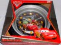 (Disney Pixar Cars 2 Lightning McQueen Tire Wall Clock)