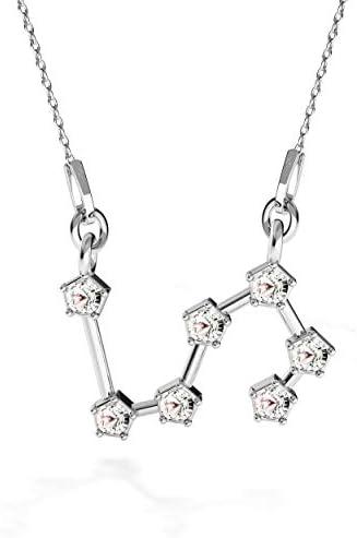 Beforia Paris Halskette Sternzeichen Löwe Kristall