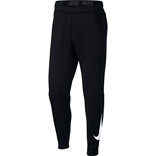 Nike Mens Tapered Therma Training Sweatpants Black/White 932257-010 Size Large