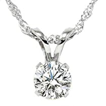 .55CT Solitaire Round New Pendant