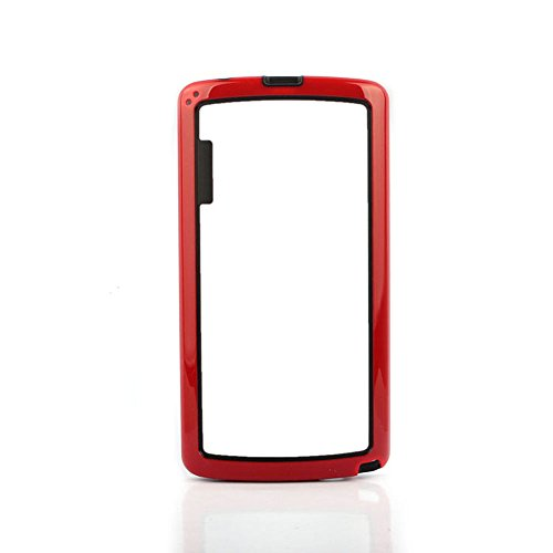 Coromose Dual-color Soft TPU Frame Bumper Case Cover for LG G3 D850 D855 (Red)