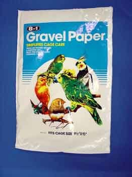 8 in 1 Bird Gravel Paper 9.5 X 15