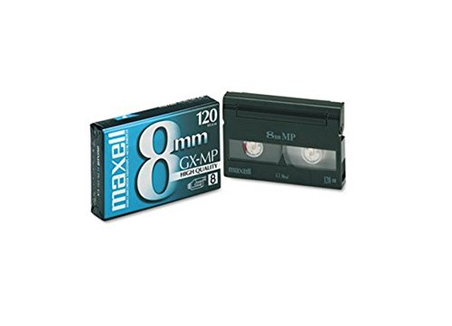 Maxell High Quality GX-MP Metal Particle PG-120 Video Cassette Tape for 8mm Camcorder (Pack of 2)