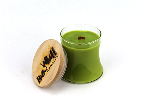 Coconut Lime - Soy Candle, Woodwick Candles, Scented Candles, Soy Wax, Handmade Candles, Coconut Lime Candle, Wood Wick ()
