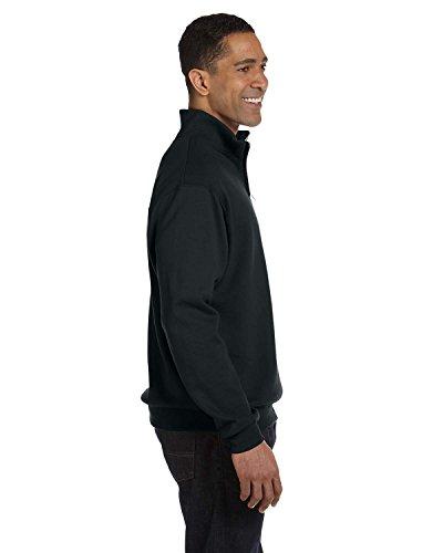Jerzees Men's Quarter-Zip Cadet Collar Pullover Sweatshir...
