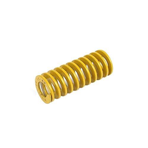 DealMux 16mmx40mm Chromium Alloy Steel Lightest Load Die Spring Yellow DLM-B0190030N4
