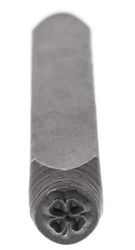 6mm Four Leaf Clover, Design Stamp - LPSD60 ()