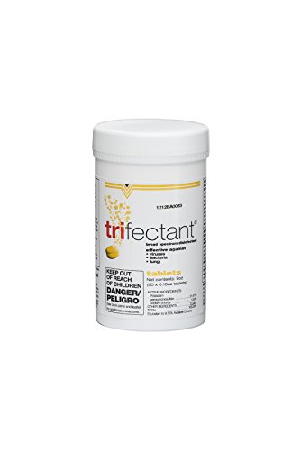 Tomlyn Trifectant Disinfectant - Tomlyn Trifectant Disinfectant Tablet, 50-Count