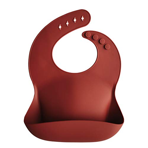 Mushie Silicone Adjustable Waterproof Sienna product image