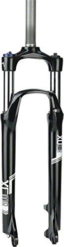 SR Suntour XCM HLO Suspension Fork: 29'', 1-1/8'' Threadless Steerer, 100mm Travel, 100x9mm, Disc, Black