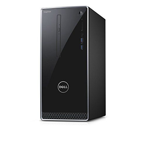 2017 Newest Dell Inspiron 3650 Flagship Premium Desktop PC, Intel Core i7-6700 Quad Core, 3.4 GHz, 16GB RAM, 2TB HDD, AMD Radeon HD R9 360 2GB GDDR5, DVD, WIFI Bluetooth HDMI VGA, Windows 7 Pro (Computer Tower Hdmi Pc)
