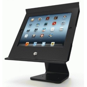 Maclocks iPad Slide Pro iPad POS Kiosk, Black (303B255POSB)