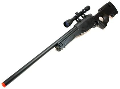 Amazon Com Bbtac Airsoft Sniper Rifle 500 Fps Bt 96 Full Metal Bolt Action Awp With 3x Scope Package Airsoft Rifles Sports Outdoors