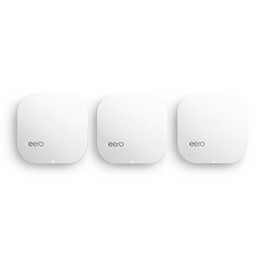 eero Pro WiFi System (3 eeros) - Advanced Tri-Band...