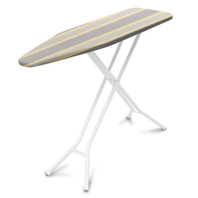 Tri Board Ironing Leg - Homz SureFoot 4-Leg Ironing Board with Buttercup Cover