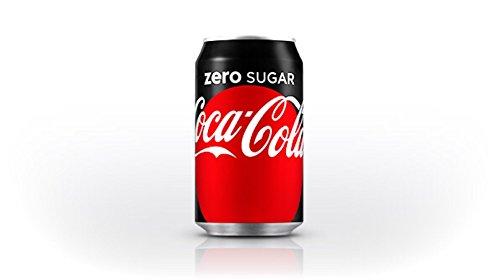 Coca-Cola Zero, 12 fl oz, 24 Pack (Sugar Diet Soda)